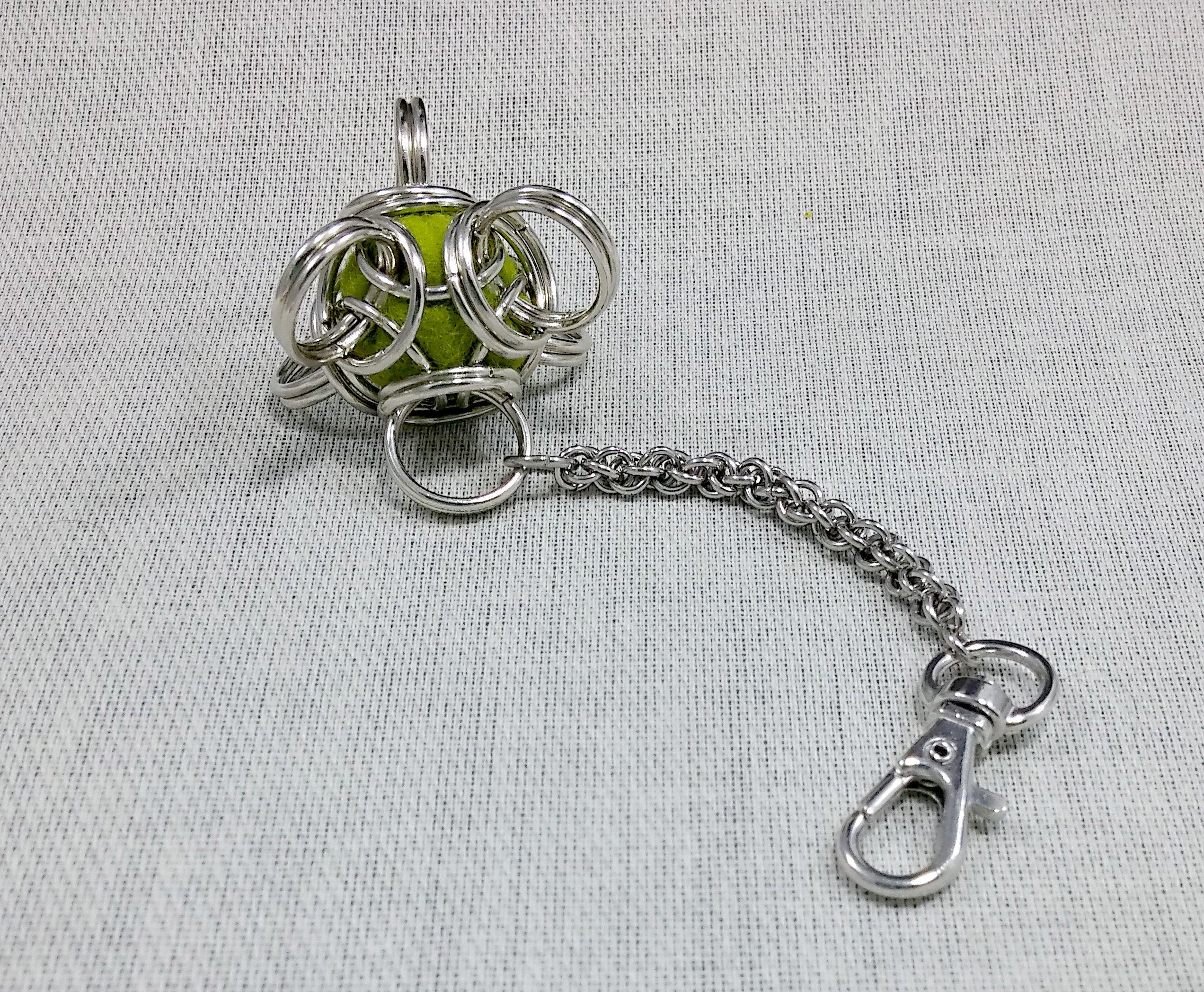 accessories green gift keychain unusual christmas keyfob