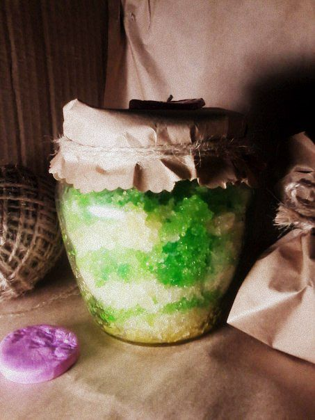 honey scrub natural mint cosmetics home