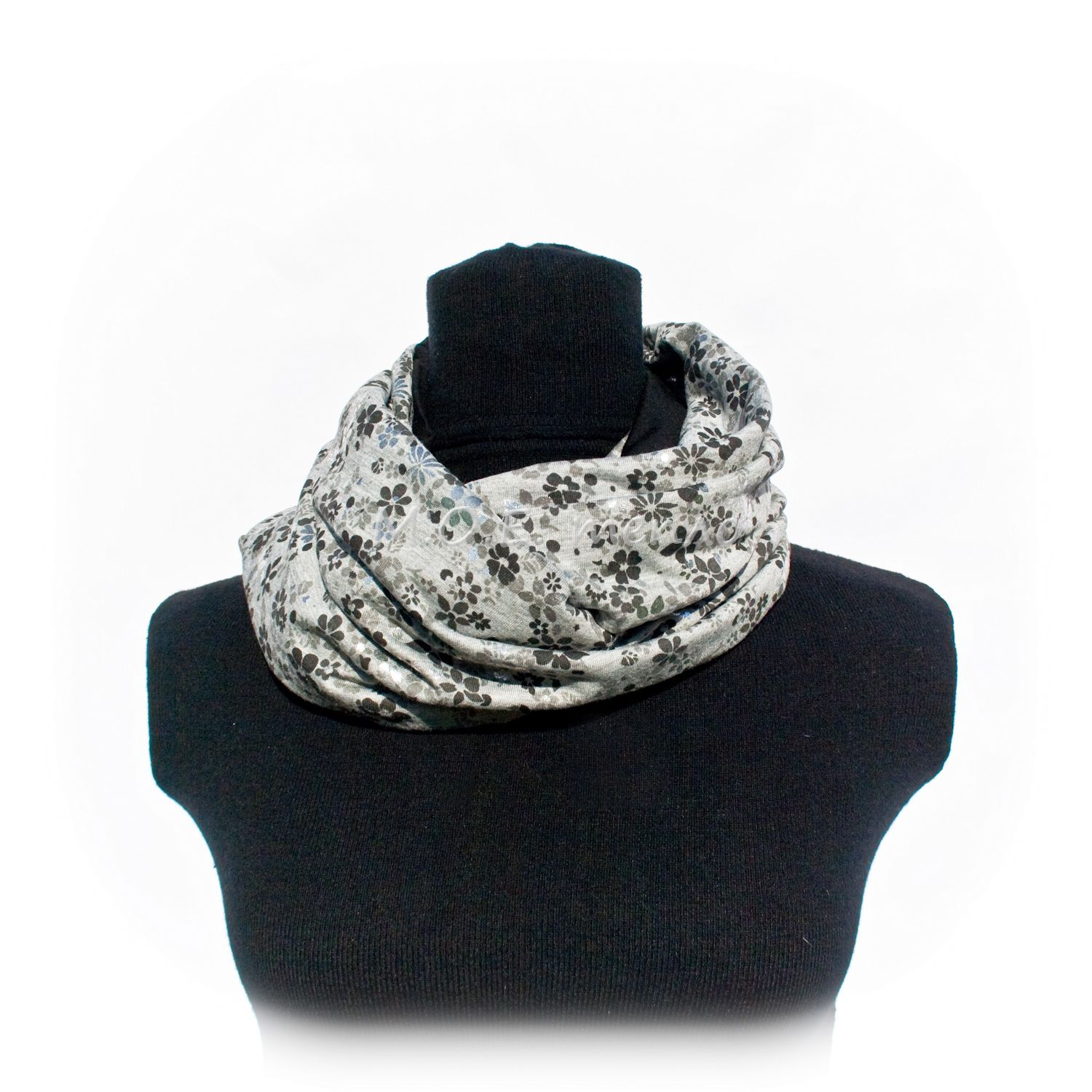 silver accessories clothes scarf neckwarmer
