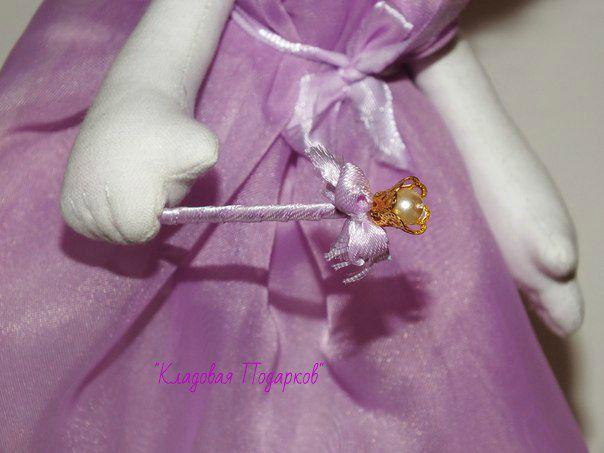 handmade doll gift wings fairy