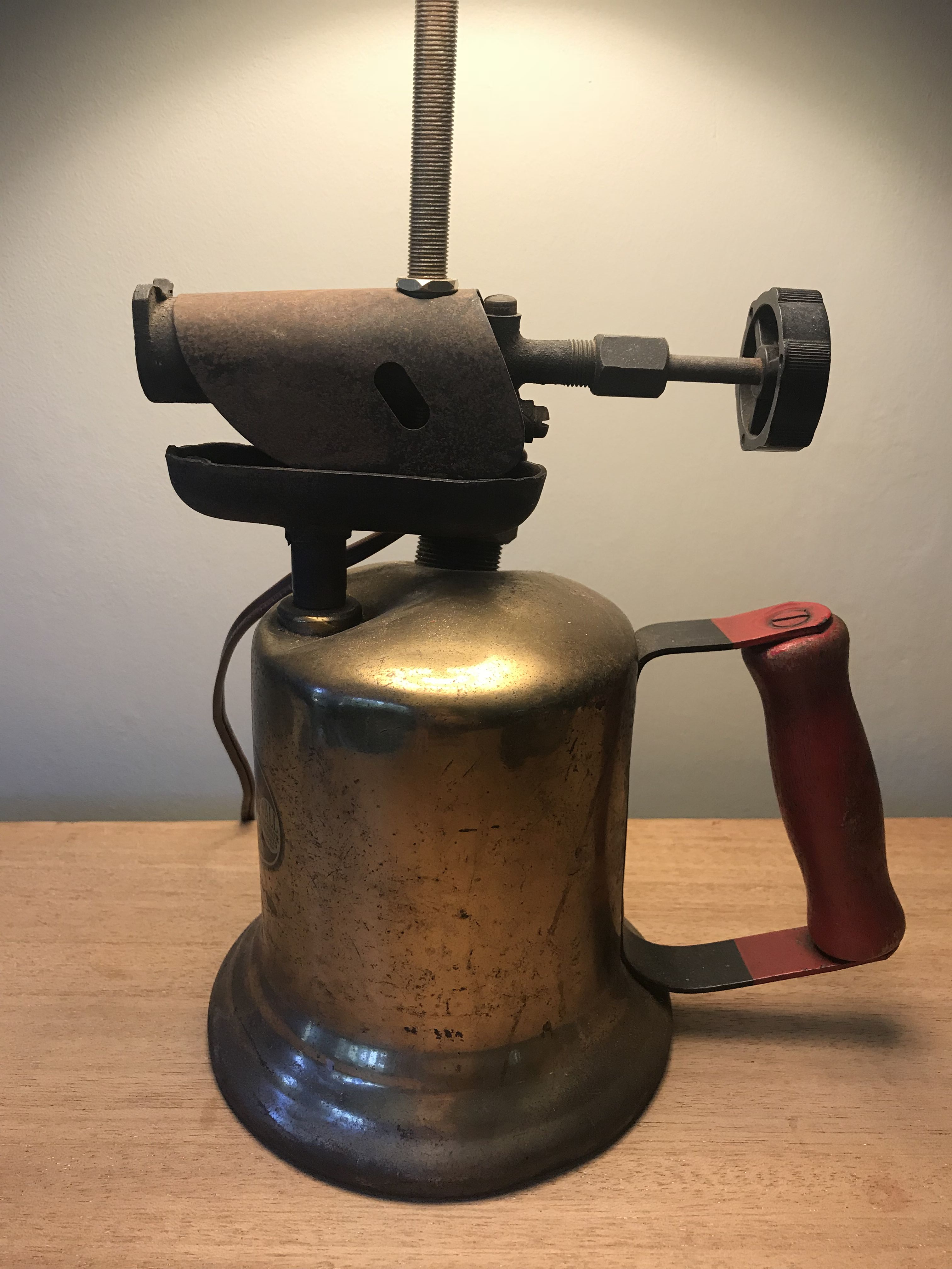 vintage lamp torch blow cycled lights