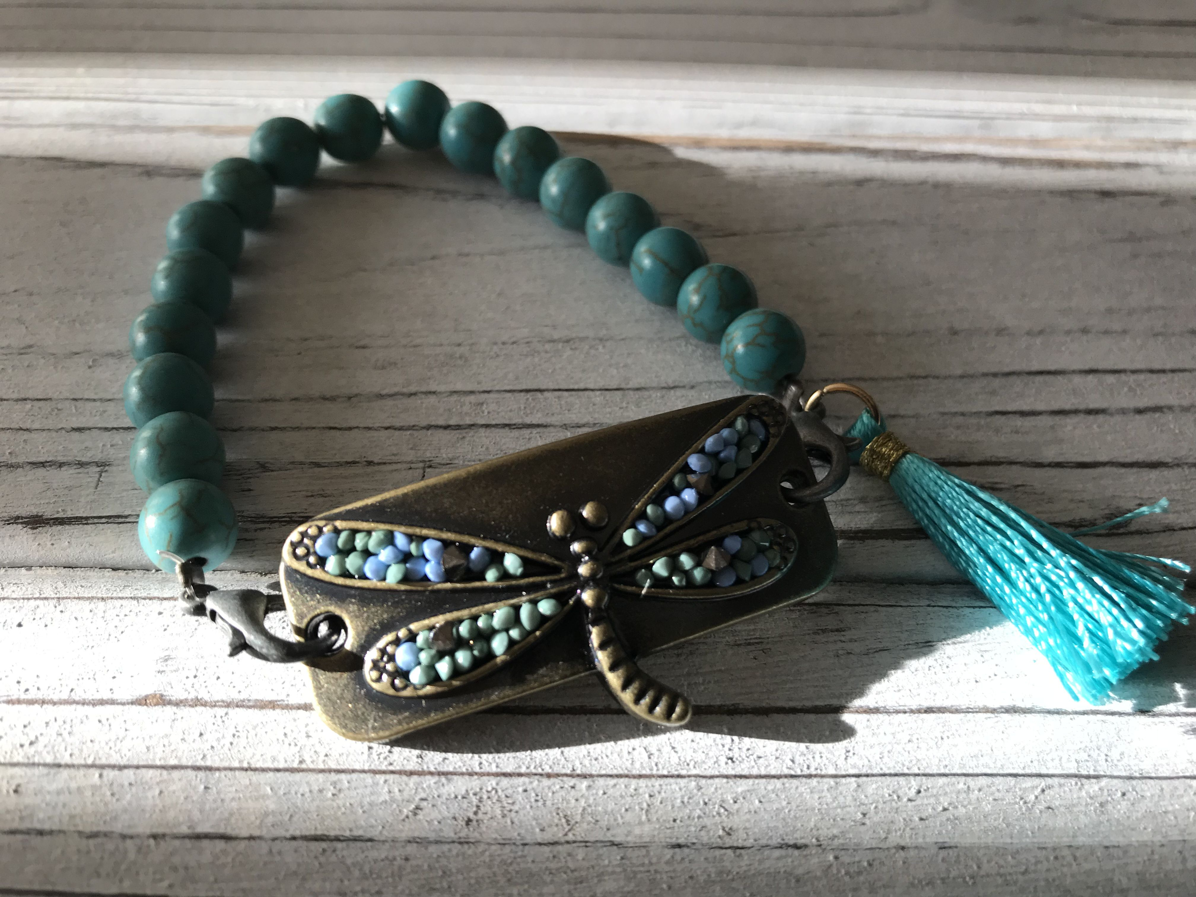 nautical positiveenergy elephant leather madewithlove clipon hearts tassels anchor owls cross dragonfly turquoise handmade chains brass beads stackable gypsy