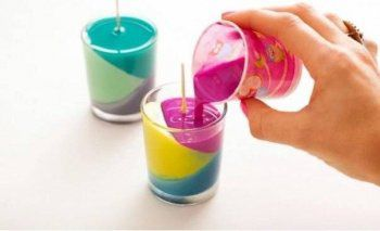 colourful crayons candles unusual make