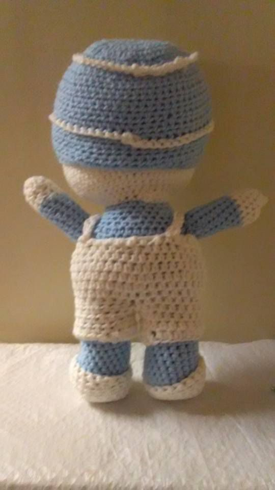 amigurumi doll baby gift present handmade crocheted shower