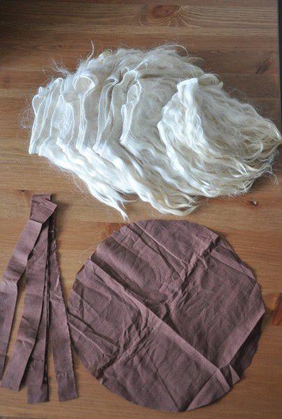 accessories goods wig textile sew