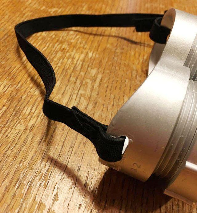 children minion elastic pipe goggles