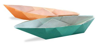 crafts sheet origami paper boat