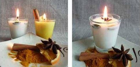 candles wax soy homemade make