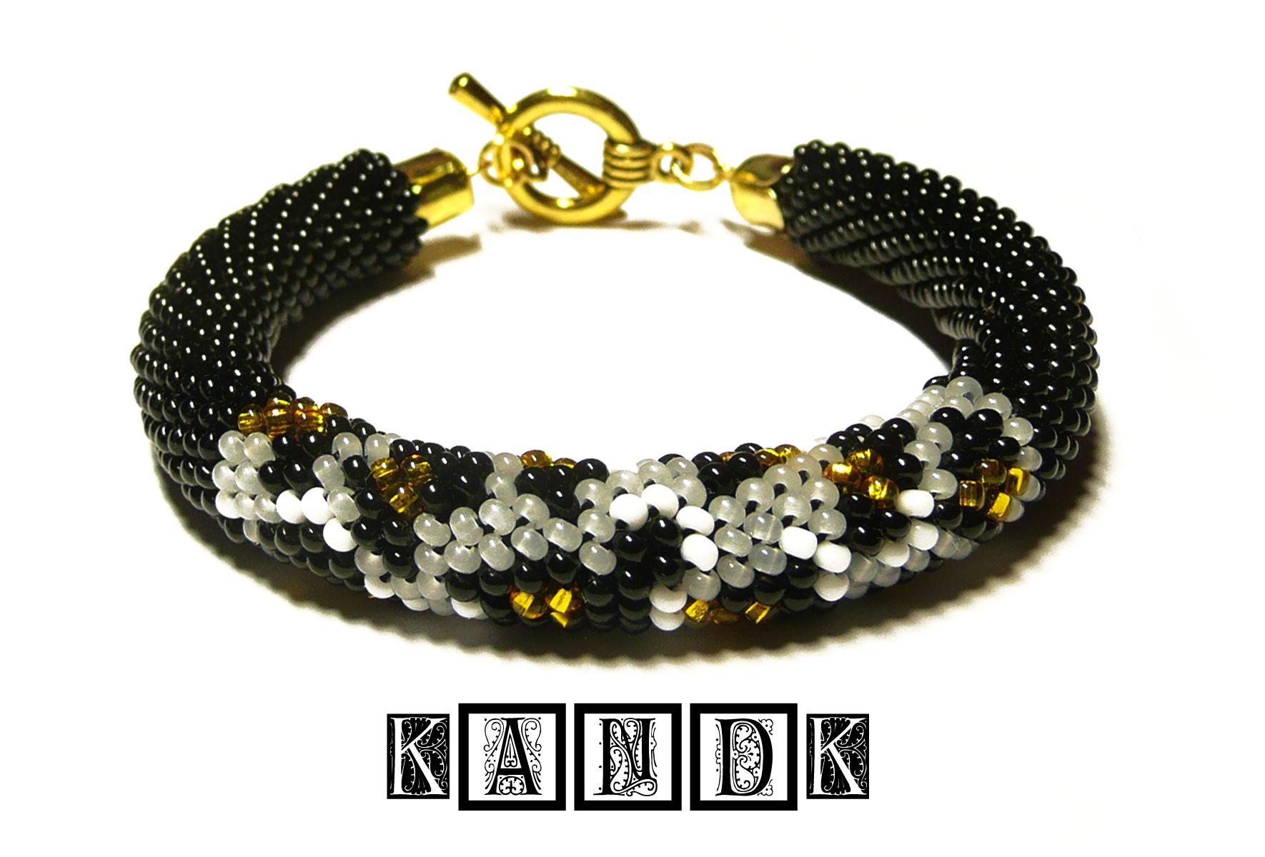 gift handmade bracelet beads leo kandk