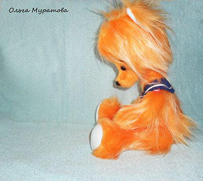 toy fox orange bear kids