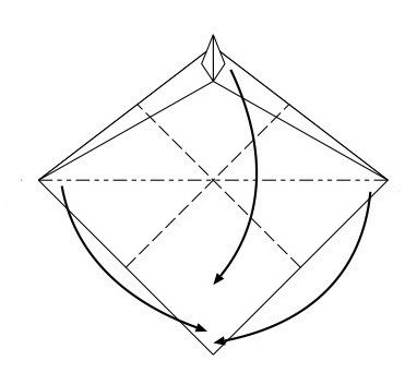 dragon crafts instruction paper make
