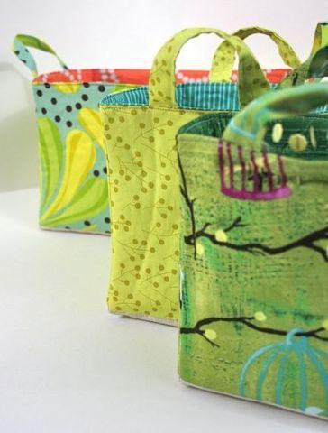 tailoring textile bag tote make