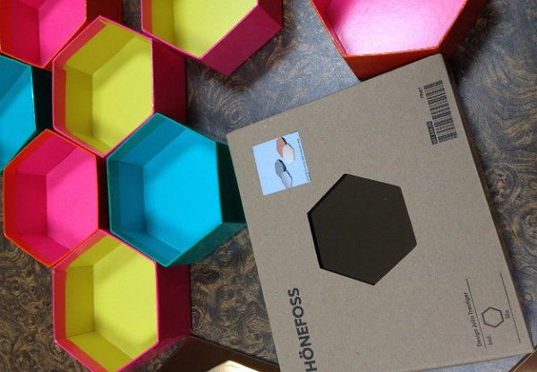 interior shelf modern honeycomb hexagon