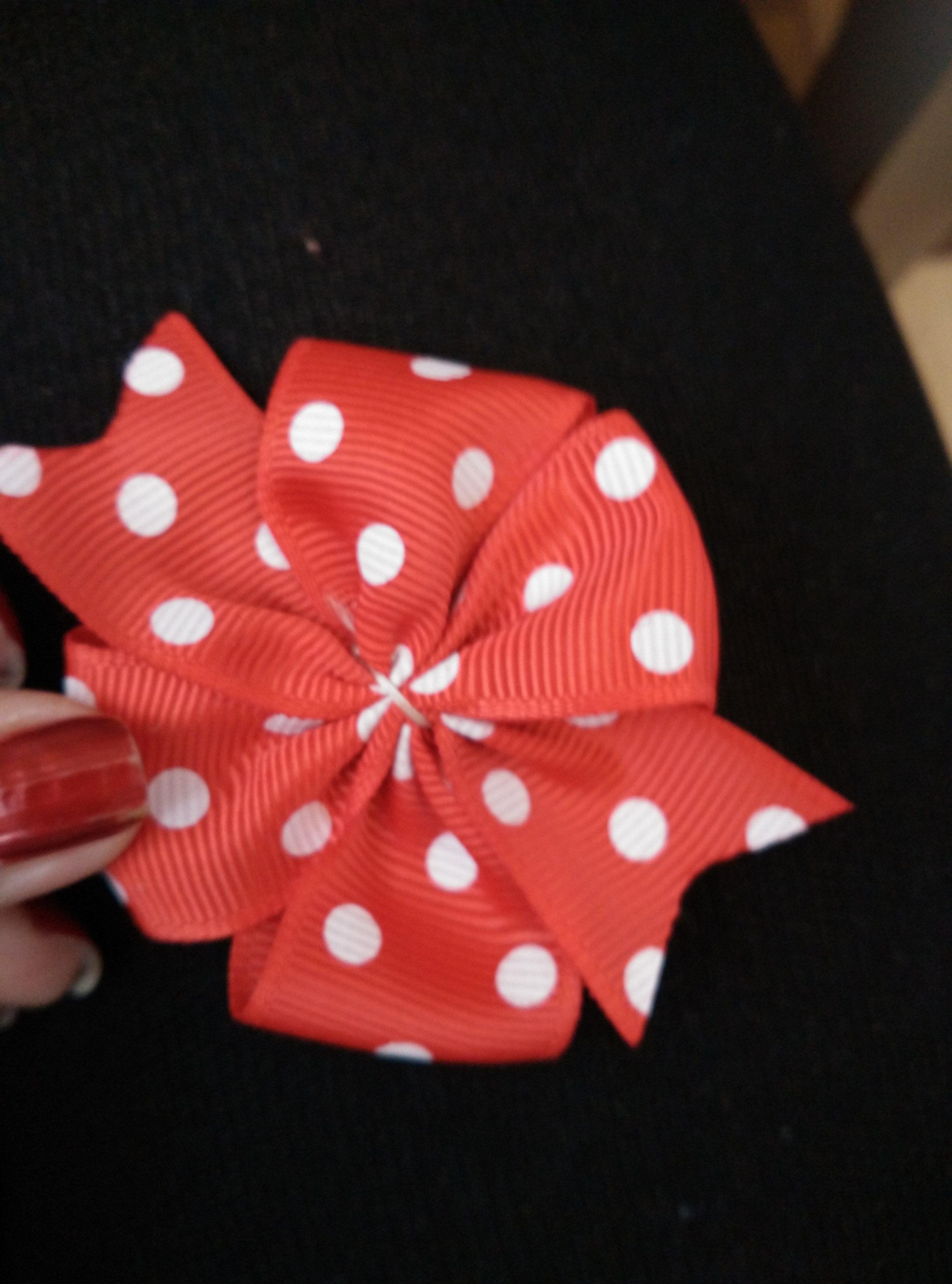 bows hair bobbypins