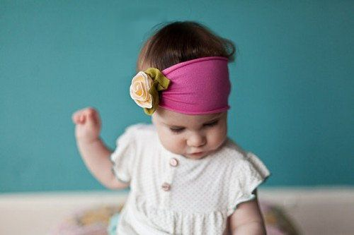baby ribbon headbands make accessories