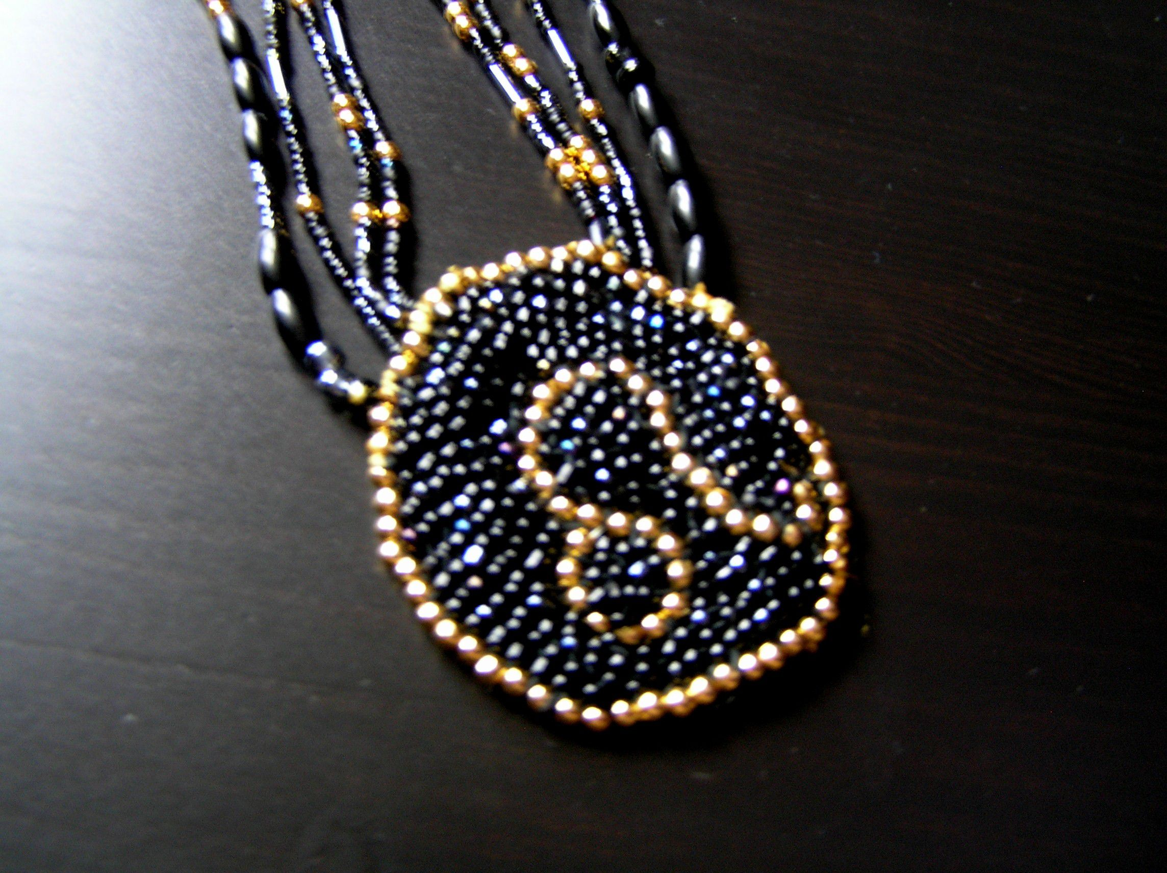 star beads pendant talisman jewelry