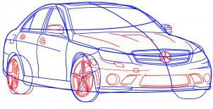 car stepbystep draw pencil art