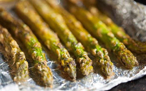 cook asparagus cookery ingredients step