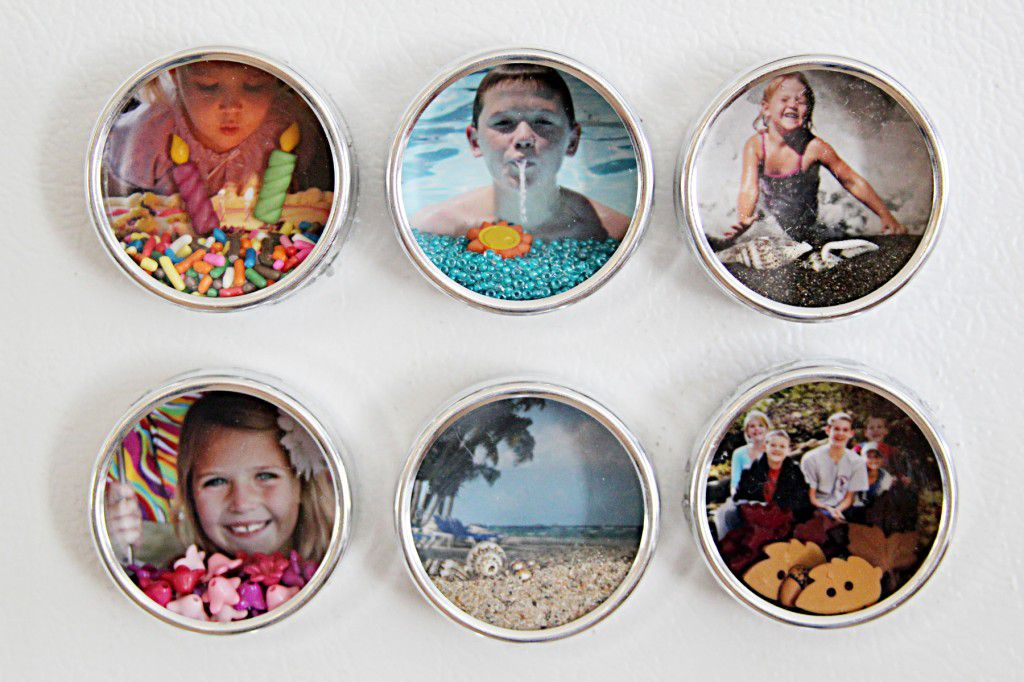gift photo family magnet memories